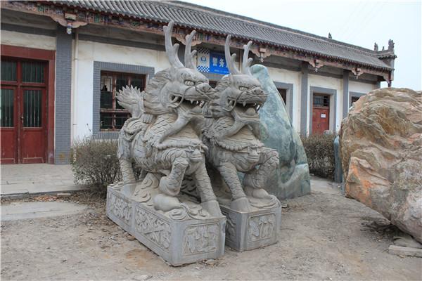 陕西麒麟石雕制作